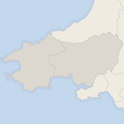 Map of house prices in West Wales