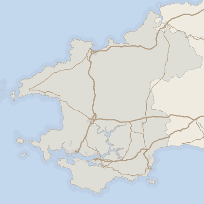 Map of property in Pembrokeshire