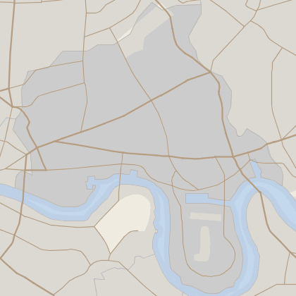 Map of house prices in Tower Hamlets