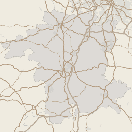 Map of property in Worcestershire