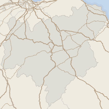 Map of property in Scottish Borders