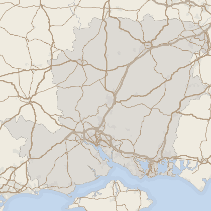 Map of property in Hampshire