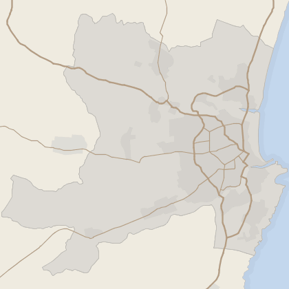 Map of house prices in Aberdeen (County)