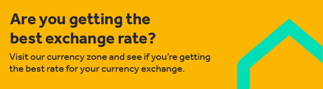 Visit our currency zone and see if you're getting the best rate for your currency exchange by Rightmove Overseas