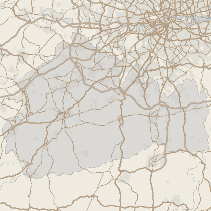 Map of property in Surrey