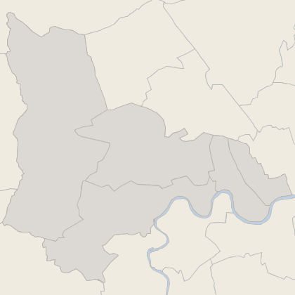 Map of property in West London