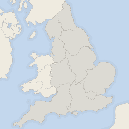 Map of property in England
