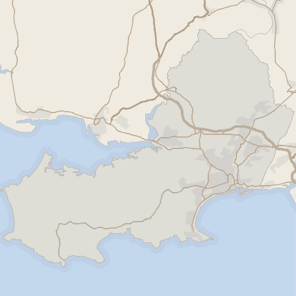 Map of property in Swansea (County of)