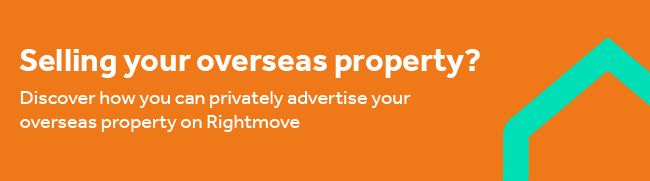 Advertise your property with us by Rightmove Overseas