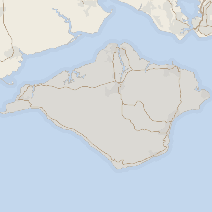 Map of property in Isle Of Wight