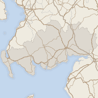 Map of property in Dumfries and Galloway
