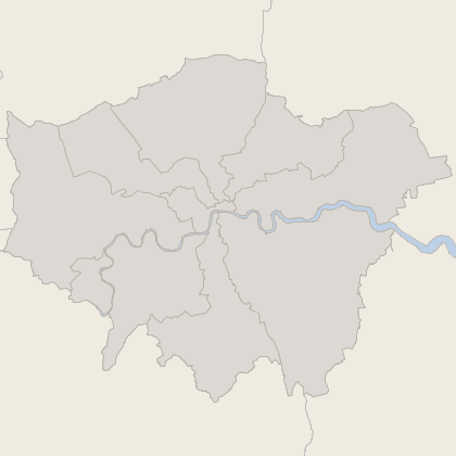 Map of house prices in London