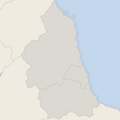 Map of property in North East