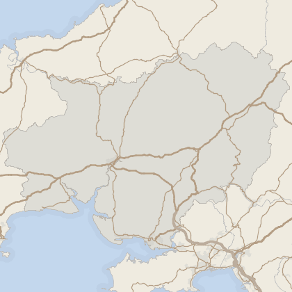 Map of property in Carmarthenshire