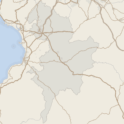 Map of property in East Ayrshire