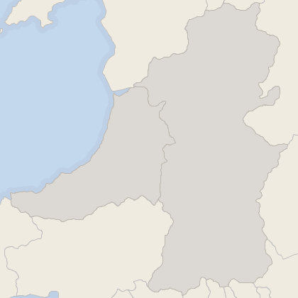 Map of property in Mid Wales
