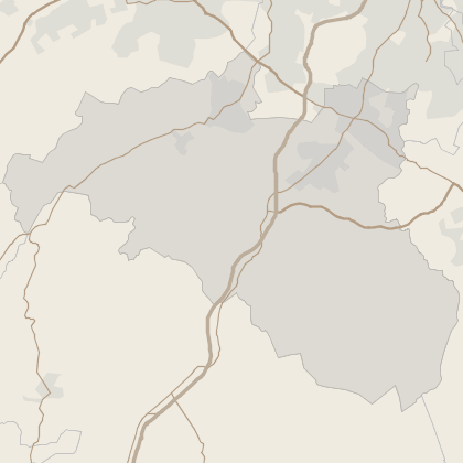 Map of property in East Renfrewshire