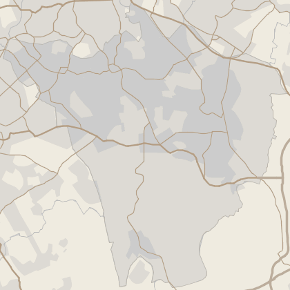 Map of house prices in Bromley