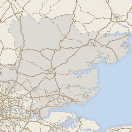 Map of house prices in Essex