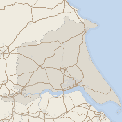 Map of house prices in East Riding Of Yorkshire