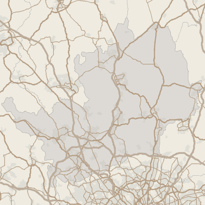 Map of house prices in Hertfordshire